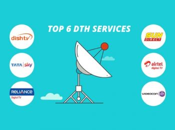 Top 6 DTH Service Providers in India