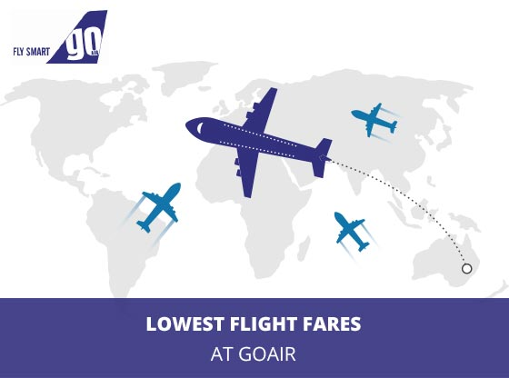 GoAir providing Lowest Flight Fares