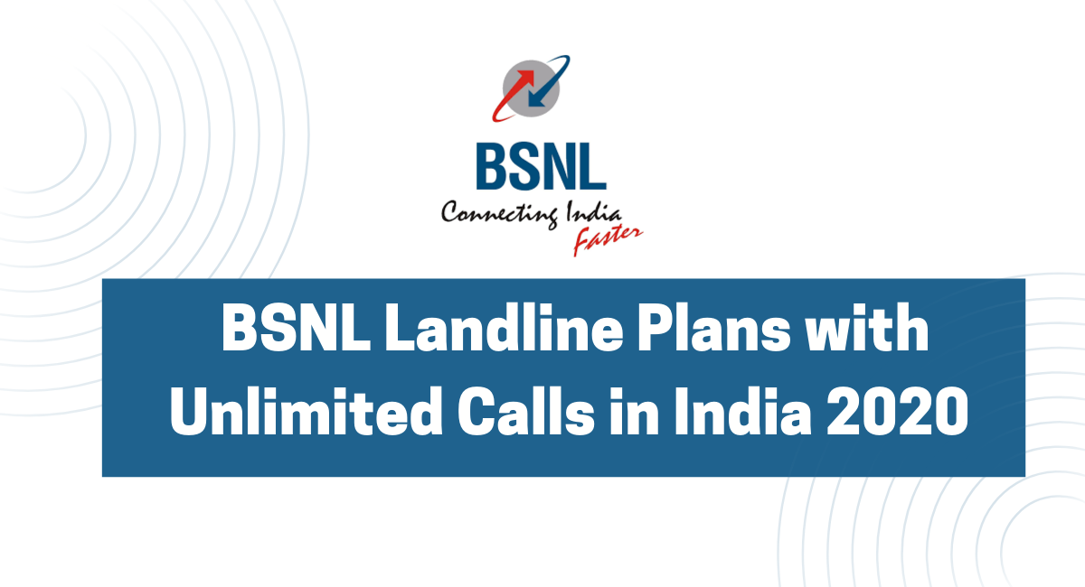BSNL Landline Plans