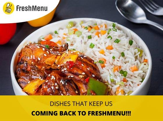 Order online with freshmenu