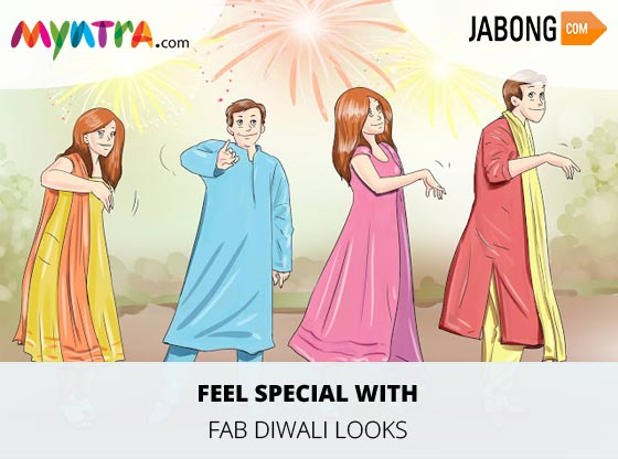 Fab Diwali Looks With Jabong and Myntra Offers