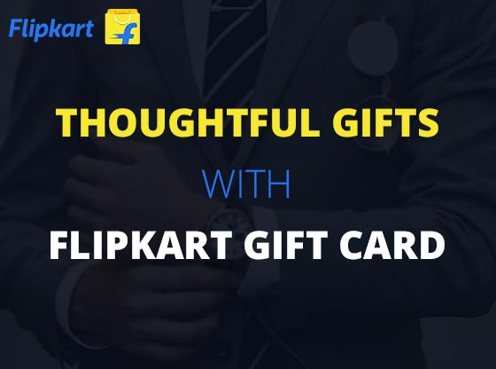 Top best gift for men using Flipkart Giftcard