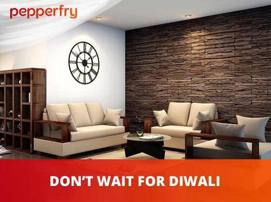 Buy Furniture On Sale with Pepperfry