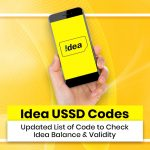 IDEA USSD Codes: Updated List of Codes to Check Idea Balance & Validity