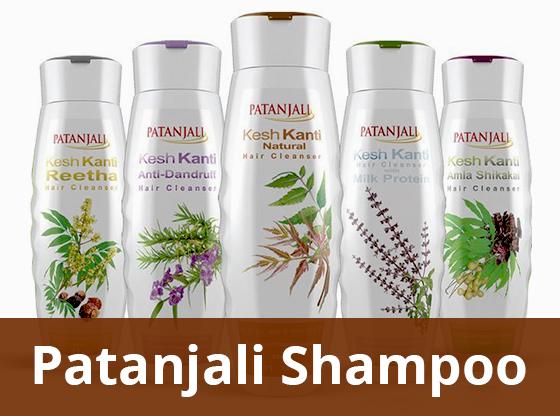 Patanjali Shampoos