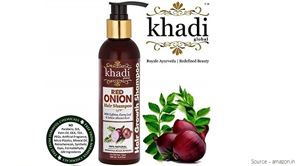 Khadi Global Onion Shampoo