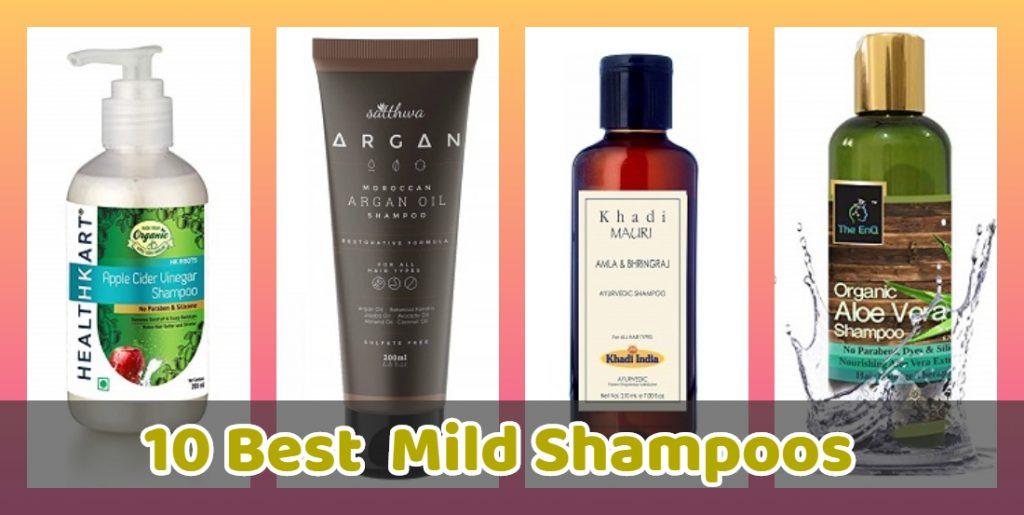 10 best Mild Shampoos in India