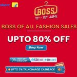 Best of the Best – Flipkart BOSS Sale 2019