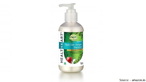 Healthkart Apple Cider Vinegar Mild Shampoo