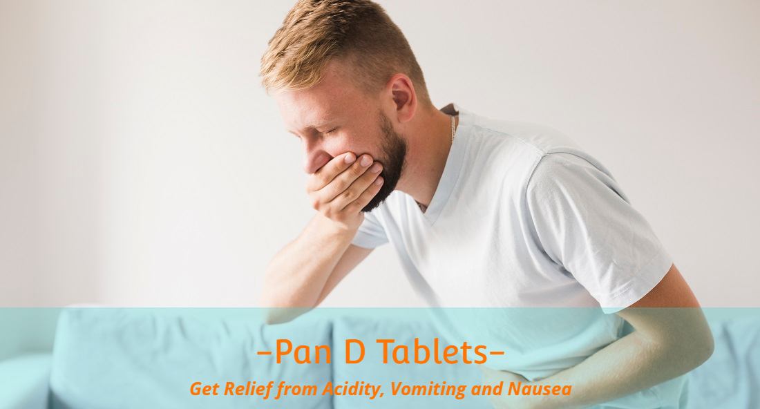 PAN D Tablets for vomitting and nausea