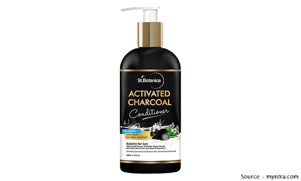 St. Botanica Activated Charcoal Hair Shampoo