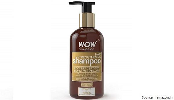 WOW Hair Strengthening Mild Shampoo