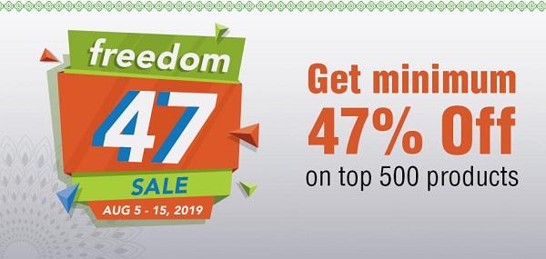 BigBasket Freedom 47 Sale