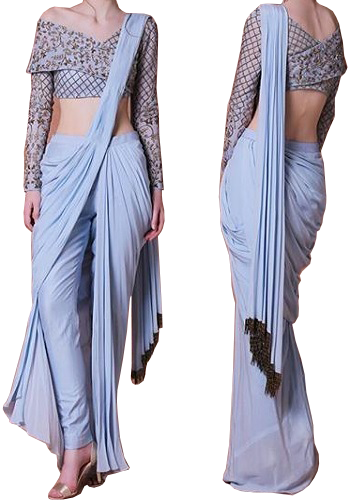 Style a Saree - Dhoti Look