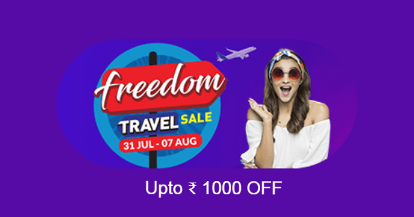 Makemytrip Freedom Travel Sale
