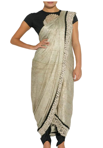 Style a Saree - Palazzo Look