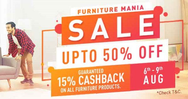 pepperfry Furniture Mania Sale