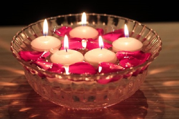 Floating Candles for Diwali Decoration