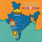 India's Longest Celebrated Festivals from North to South