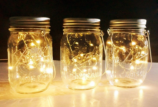 Mason Jar Lights for Diwali