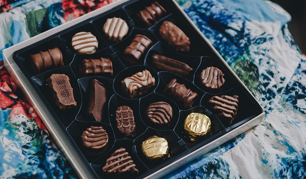 Box Of Chocolates as Valentine's Day Gift