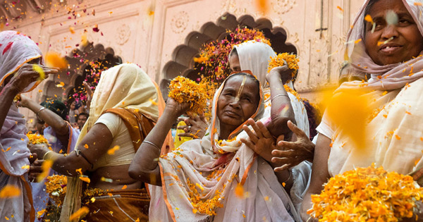 Holi With Widows