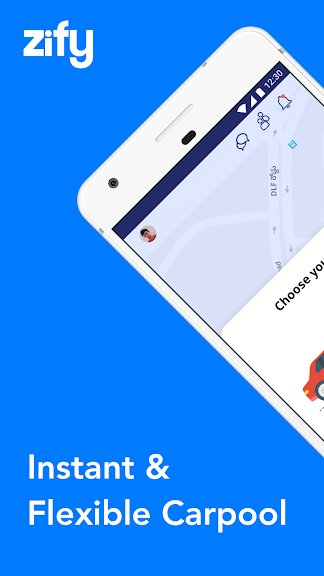 ZIFY CarPooling App