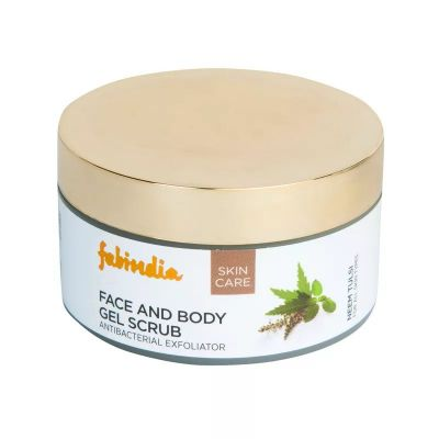 Fabindia Neem Tulsi Gel Scrub Body and Face