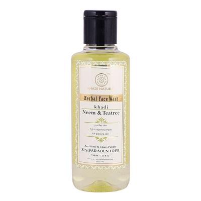 Khadi Natural Neem & Tea tree Herbal Face Wash