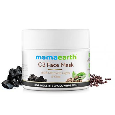 Mamaearth C3 Face Mask With Charcoal, Coffee & Clay