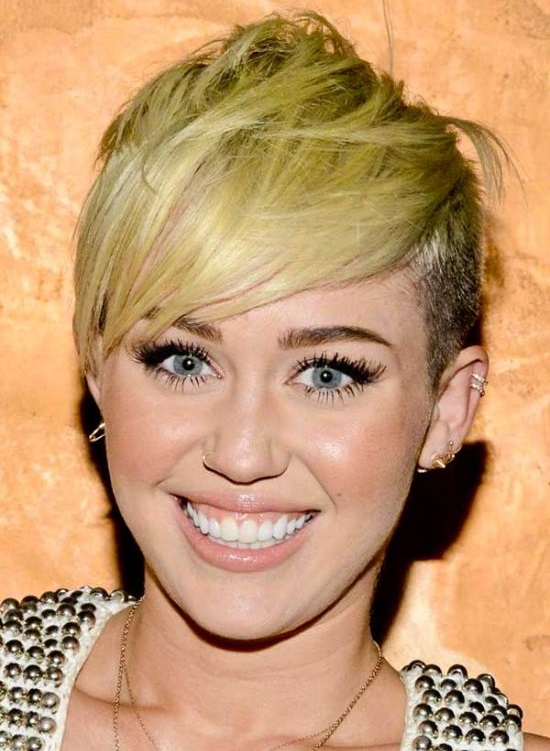 Miley Cyrus Inspired Disconnected Haircut