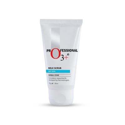 O3+ Milk Scrub Dry Skin Dermal Zone
