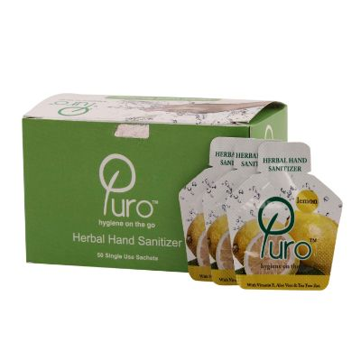 Puro Herbal Hand Sanitizer Gel