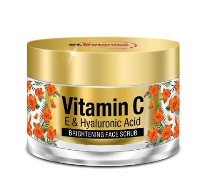 St.Botanica Vitamin C, E & Hyaluronic Acid Brightening Face Scrub
