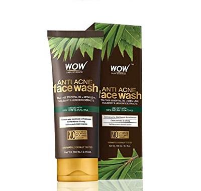 WOW Anti Acne Face Wash