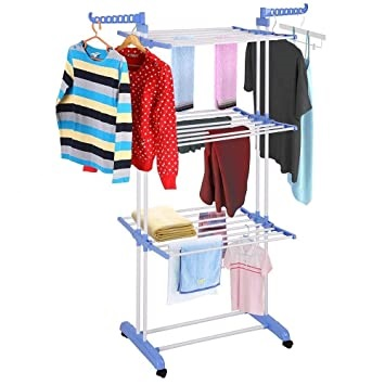 ADA Heavy Duty Double Pole Cloth Drying Stand