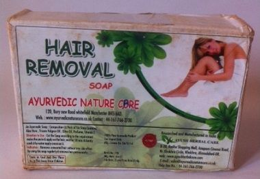 Ayurvedic Nature Care Hair Removal Soap