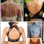 15 Latest Blouse Neck Designs (Front and Back) With Images 2020