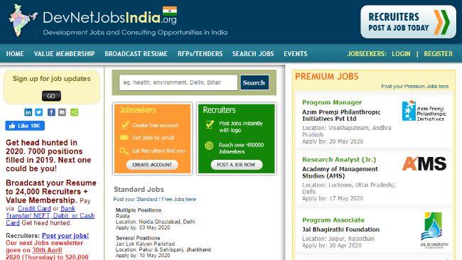 DevNetJobsIndia org