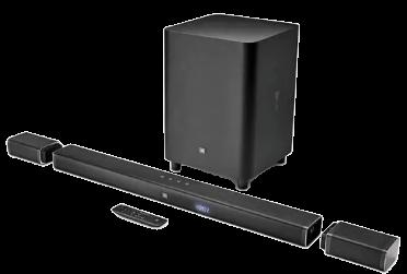 JBL 5.1 Channel 4K Ultra HD Soundbar with True Wireless Surround Speakers