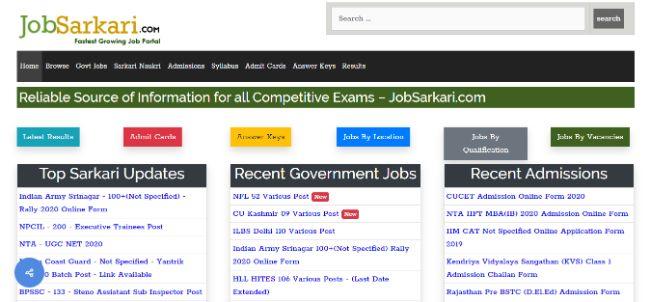JobSarkari com