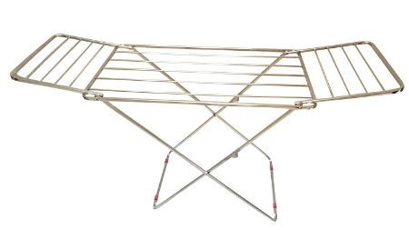LiMETRO STEEL Stainless Steel Foldable Cloth Dryer Stand