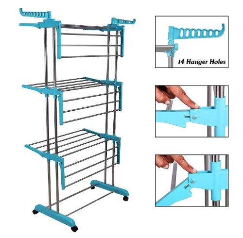 Living Basics Heavy Duty Cloth Drying Stand