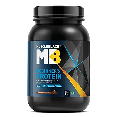 MuscleBlaze Beginners Whey Protein Supplement for women