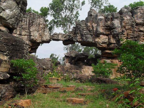 Natural Arch Tirumala Hills