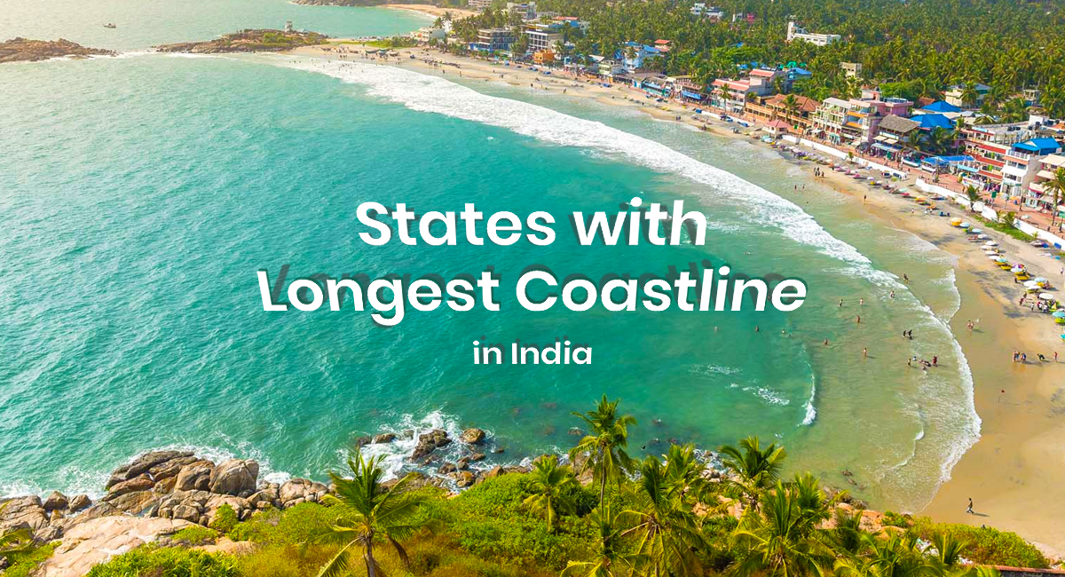 States with the Longest Coastline in India