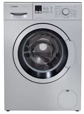 Bosch 7 kg Fully Automatic Front Load Silver (WAK24168IN)