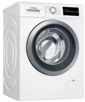 Bosch 8 kg Inverter Express Wash Fully Automatic Front Load with In-built Heater White (WAT24463IN)