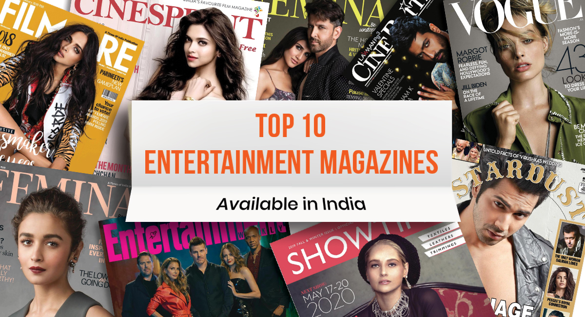 Entertainment Magazines in India