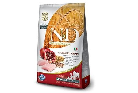 Farmina N&D Low Grain Chicken and Pomegranate Puppy Food